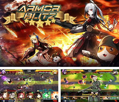 In addition to the game Heroes of tomorrow for Android phones and tablets, you can also download Armor blitz for free.
