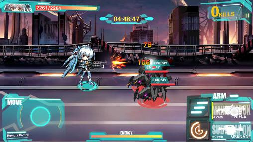 Download Armor girls: Z battle Android free game.