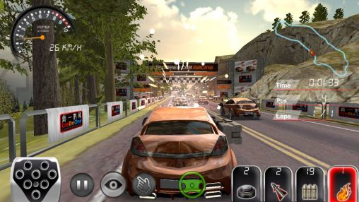 Download Armored car HD Android free game.