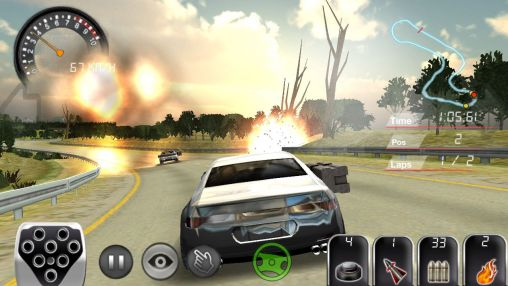 Screenshots von Armored car HD für Android-Tablet, Smartphone.