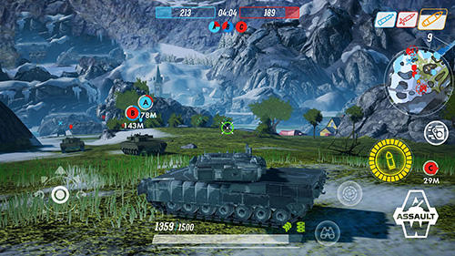 Screenshots von Armored warfare: Assault für Android-Tablet, Smartphone.