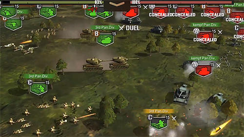Screenshots von Armored warriors für Android-Tablet, Smartphone.