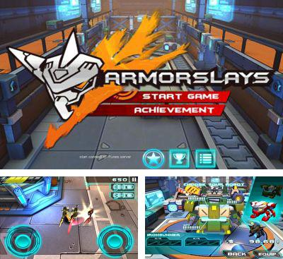 In addition to the game ANGRY BOTS 9MB for Android phones and tablets, you can also download Armorslays for free.