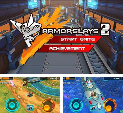 In addition to the game Armorslays for Android phones and tablets, you can also download Armorslays 2 for free.