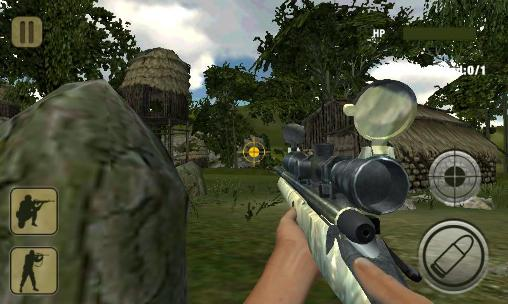 Jogue Army commando: Sniper shooting 3D para Android. Jogo Army commando: Sniper shooting 3D para download gratuito.