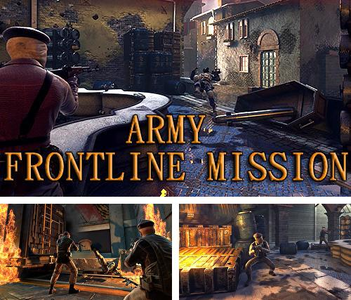 Army frontline mission: Strike shooting force 3D