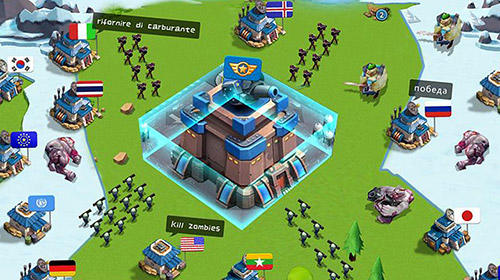 Screenshots von Army of allies für Android-Tablet, Smartphone.