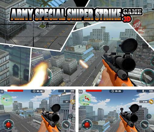 Army special sniper strike game 3D