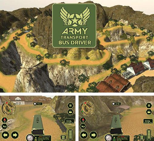 Кроме игры Off-road: Hill driver bus craft скачайте бесплатно Army transport bus driver для Android телефона или планшета.