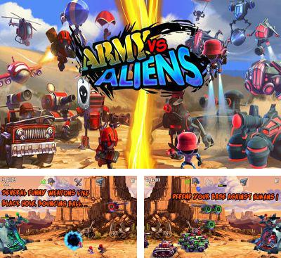 In addition to the game Elite CommandAR Last Hope for Android phones and tablets, you can also download Army Vs Aliens Defense for free.