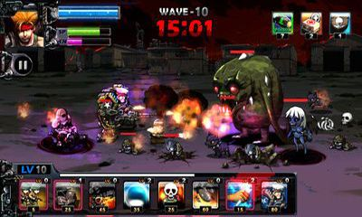 Screenshots of the Army VS Zombie for Android tablet, phone.