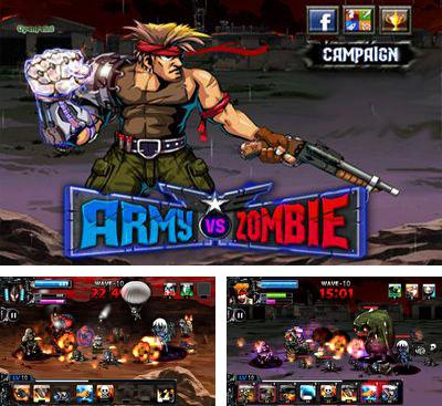 In addition to the game Zombie Terminator for Android phones and tablets, you can also download Army VS Zombie for free.