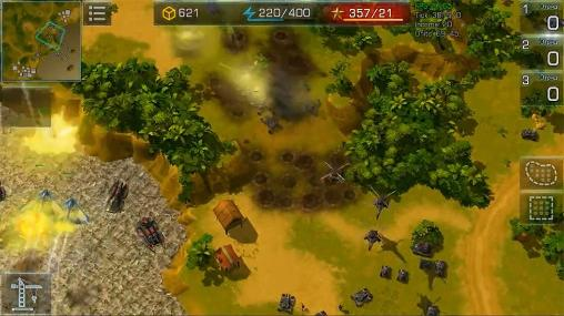 Screenshots von Art of war 3: Global conflict für Android-Tablet, Smartphone.
