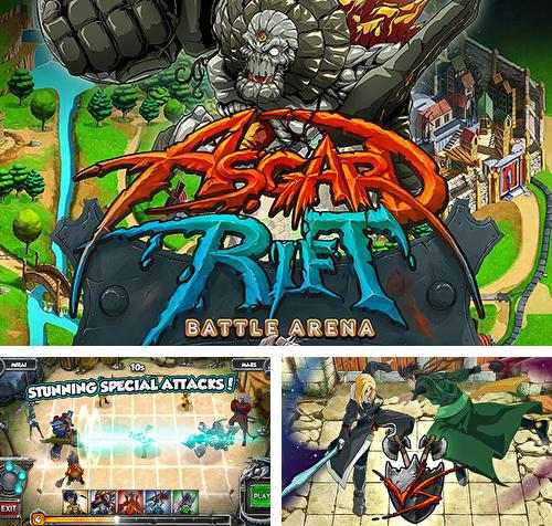 In addition to the game Adventure time: Champions and challengers for Android phones and tablets, you can also download Asgard rift: Battle arena for free.