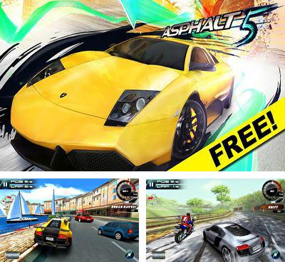 In addition to the game Modern Combat: Sandstorm for Android phones and tablets, you can also download Asphalt 5 for free.