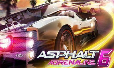 Asphalt 6 Adrenaline постер приложения