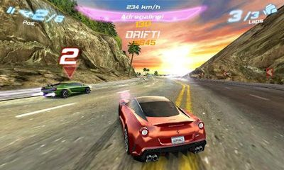 Asphalt 6 Adrenaline screenshot 2