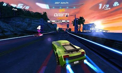Screenshots do Asphalt 6 Adrenaline - Perigoso para tablet e celular Android.