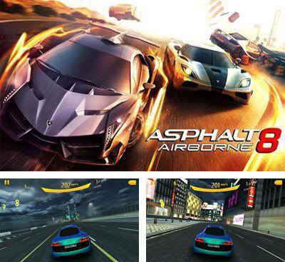 In addition to the game White Water for Android phones and tablets, you can also download Asphalt 8: Airborne v2.4.0h for free.
