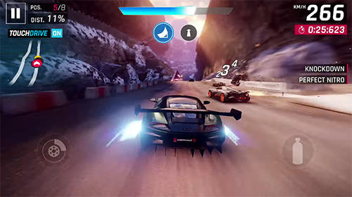 Screenshots do Asphalt 9: Legends - Perigoso para tablet e celular Android.