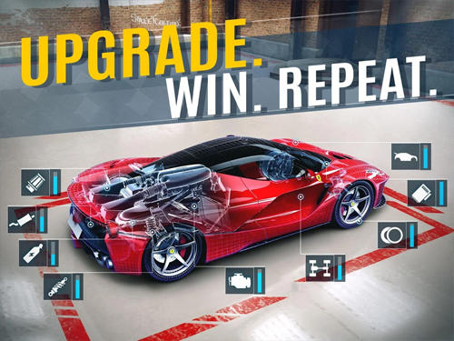 Screenshots do Underground racing rivals - Perigoso para tablet e celular Android.
