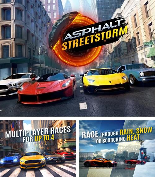 In addition to the game Asphalt street storm racing for Android, you can download other free Android games for Meizu Note 8.