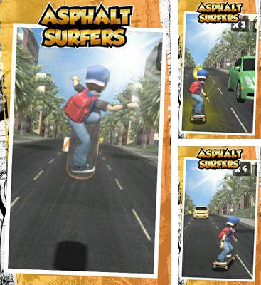 In addition to the game Pixel Raid for Android phones and tablets, you can also download Asphalt Surfers for free.