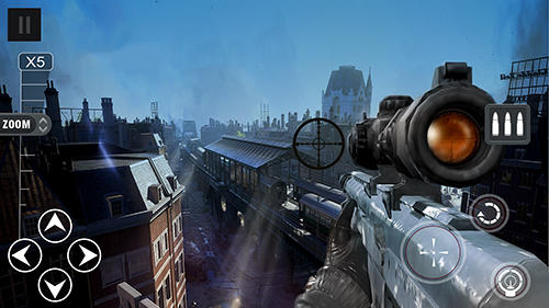 Screenshots do Assassin sniper mission - Perigoso para tablet e celular Android.