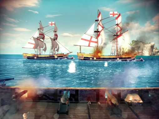 Kostenloses Android-Game Mörders Kredo: Piraten. Vollversion der Android-apk-App Hirschjäger: Die Assassin's creed: Pirates für Tablets und Telefone.