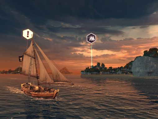 Screenshots von Assassin's creed: Pirates für Android-Tablet, Smartphone.