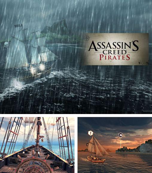 Alem do jogo 6 Armas para telefones e tablets Android, voce tambem pode baixar Credo de Assassino: Piratas, Assassin's creed: Pirates gratuitamente.