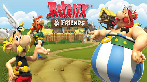 Asterix and friends poster