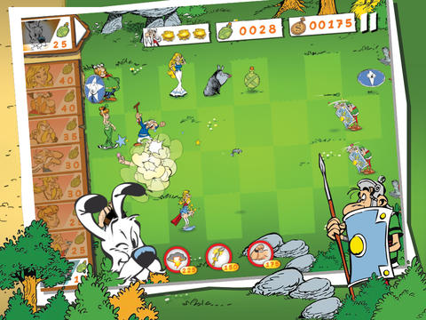 Download Asterix: Total retaliation Android free game.