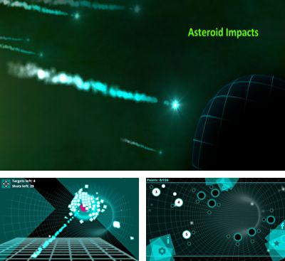 In addition to the game Fingerbike BMX for Android phones and tablets, you can also download Asteroid Impacts for free.