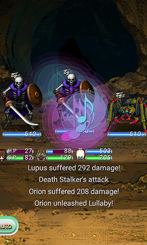 RPG Asdivine menace screenshot 3