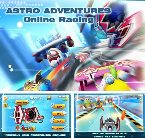In addition to the game Office jerk: Holiday edition for Android phones and tablets, you can also download Astro adventures: Online racing for free.