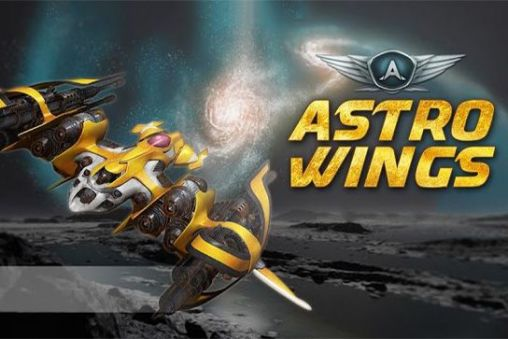 AstroWings: Gold flower poster