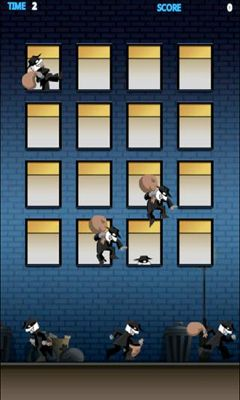 Screenshots von Whack a Thief für Android-Tablet, Smartphone.