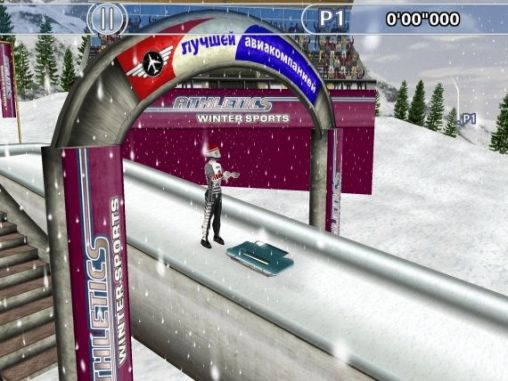 Athletics: Winter sports für Android spielen. Spiel Athletics: Winter Sport kostenloser Download.