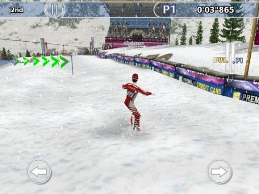 Screenshots von Athletics: Winter sports für Android-Tablet, Smartphone.