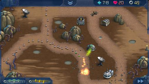 Screenshots von Attack of the A.R.M.: Alien robot monsters für Android-Tablet, Smartphone.