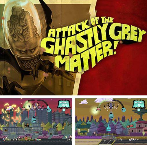 In addition to the game Royal defense saga for Android phones and tablets, you can also download Attack of the ghastly grey matter for free.
