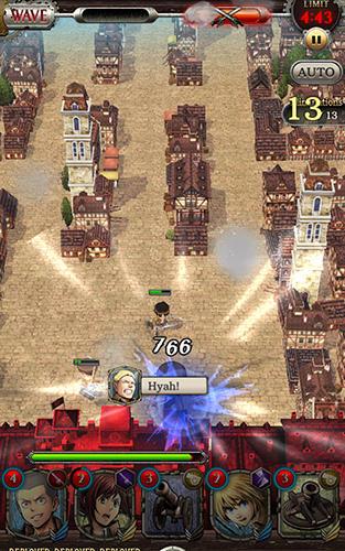 Attack on titan: Tactics screenshot 1