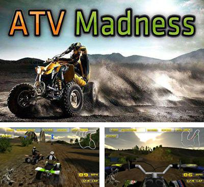 In addition to the game Hardcore Dirt Bike for Android phones and tablets, you can also download ATV Madness for free.