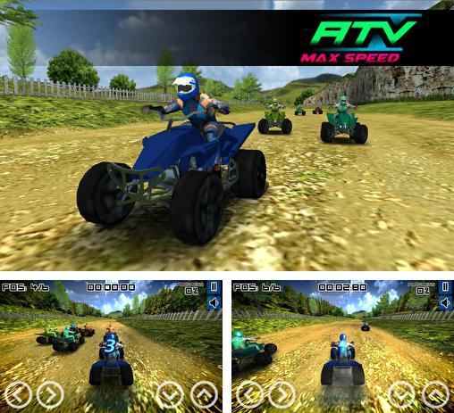 In addition to the game ATV Madness for Android phones and tablets, you can also download ATV: Max speed for free.