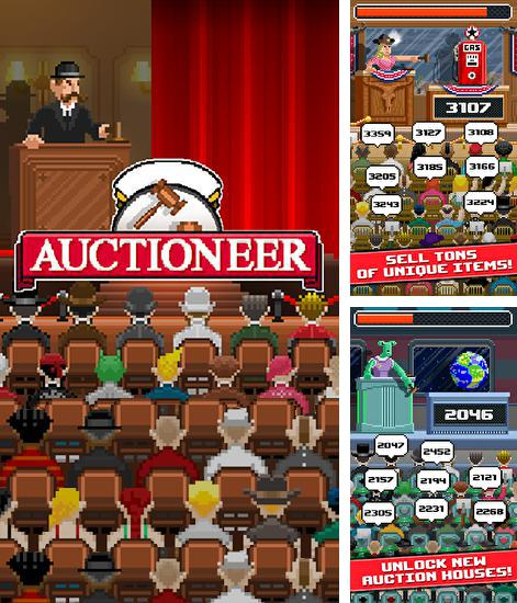 In addition to the game Snail clickers for Android phones and tablets, you can also download Auctioneer for free.