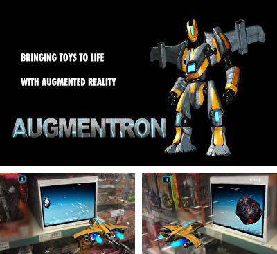 In addition to the game A Space Shooter for Android phones and tablets, you can also download Augmentron AR for free.