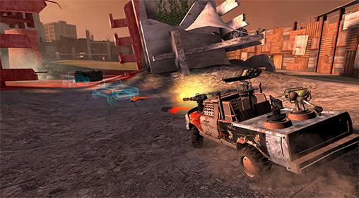 Auto warriors: Tactical car combat screenshot 2