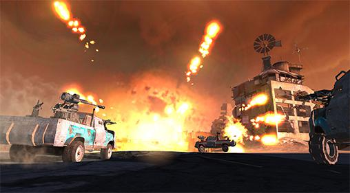 Auto warriors: Tactical car combat screenshot 3