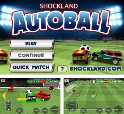 In addition to the game Striker Soccer Eurocup 2012 for Android phones and tablets, you can also download AutoBall for free.
